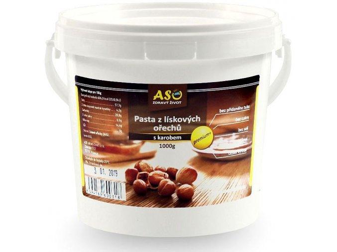 Pasta z liskovych orechu s karobem 1kg r