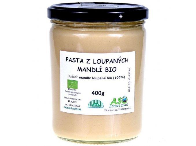 Pasta z loupanych mandli bio 400g ready2