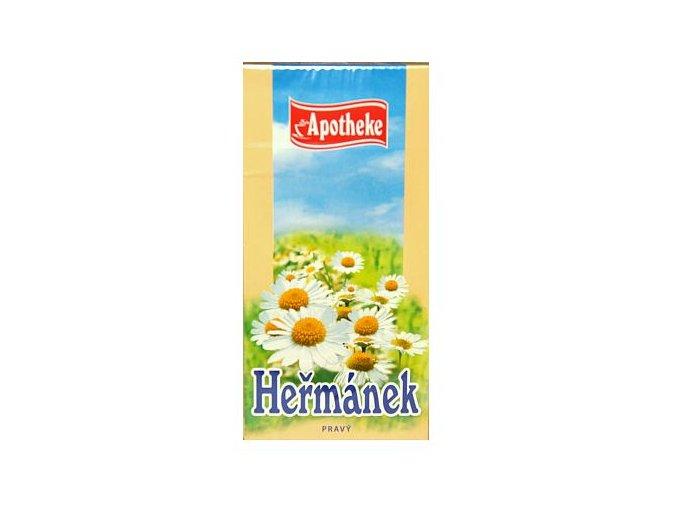 Apotheke Heřmánkový čaj 20x1,5g