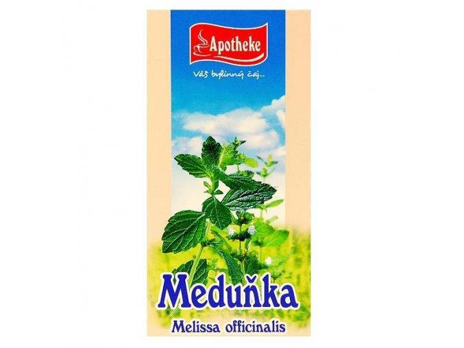 Apotheke Meduňkový čaj 20x1,5g