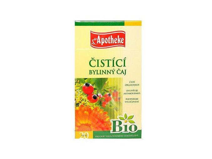Apotheke Čistící čaj Bio 20x1,5g