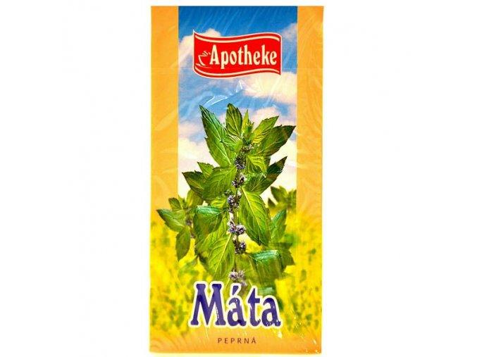 Apotheke Mátový čaj 20x1,5g