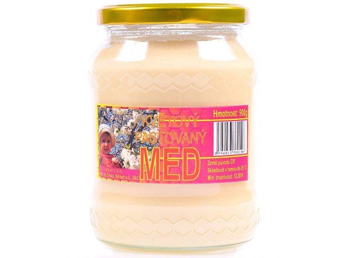 Med květový pastovaný 960g
