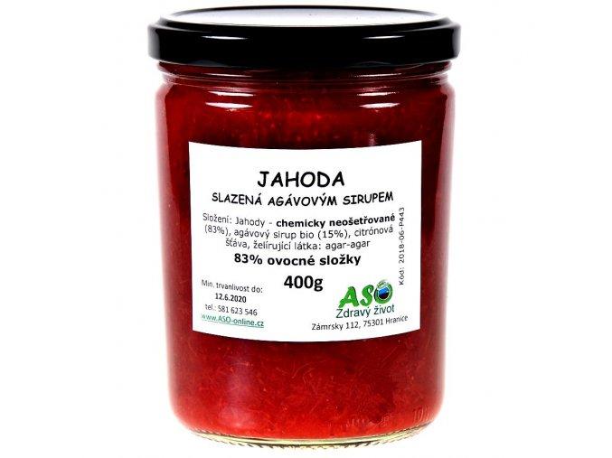 Jahoda big agavovy sirup ready