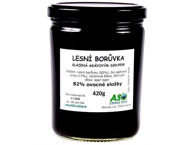 Lesni borowka sladzena agavovym sirupem big ready