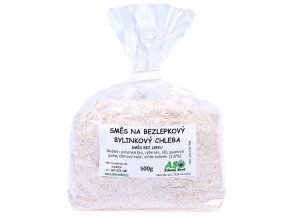 Směs na bezlepkový chléb bylinkový 500g
