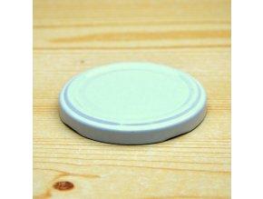 Víčko na zavařovací sklenice bílé 66mm 1000ks (Balení 1000ks)