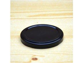 Víčko na zavařovací sklenice černé 66mm 1000ks (Balení 1000ks)