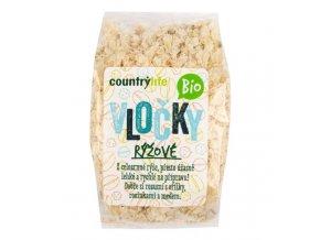 Rýžové vločky natural bio 250g