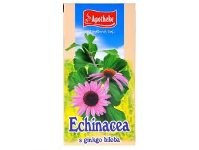Apotheke Echinacea s ginkgo bilobou čaj 20x1,5g