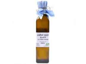 Lněný olej zlatý 250 ml