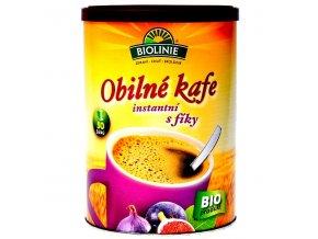Instantni obilné kafe s fiky Bio 100g