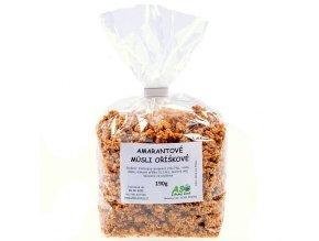 Amarantové müsli oříškové 250g