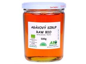 Agávový sirup  RAW Bio 500g