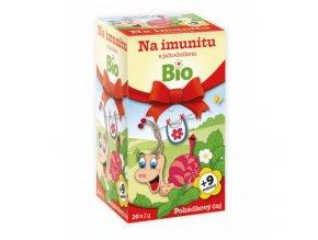 Čaj na imunitu s jahodníkem