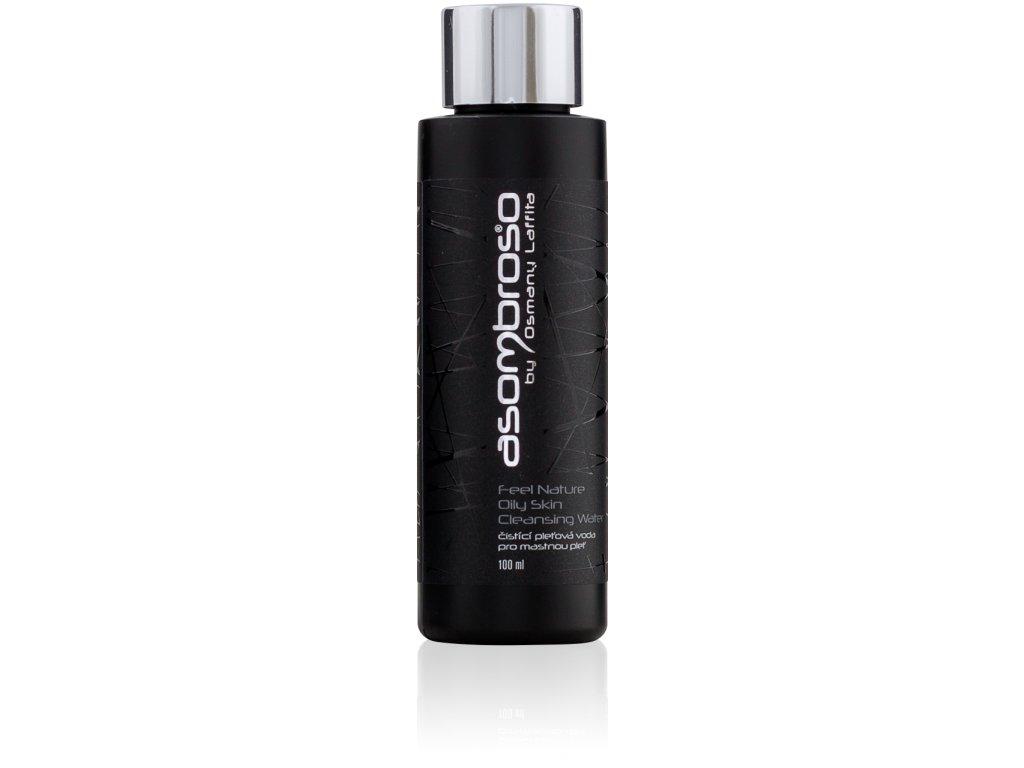 Feel Nature Oily Skin Cleansing Water MINI - čistící pleťová voda pro mastnou pleť, 100 ml