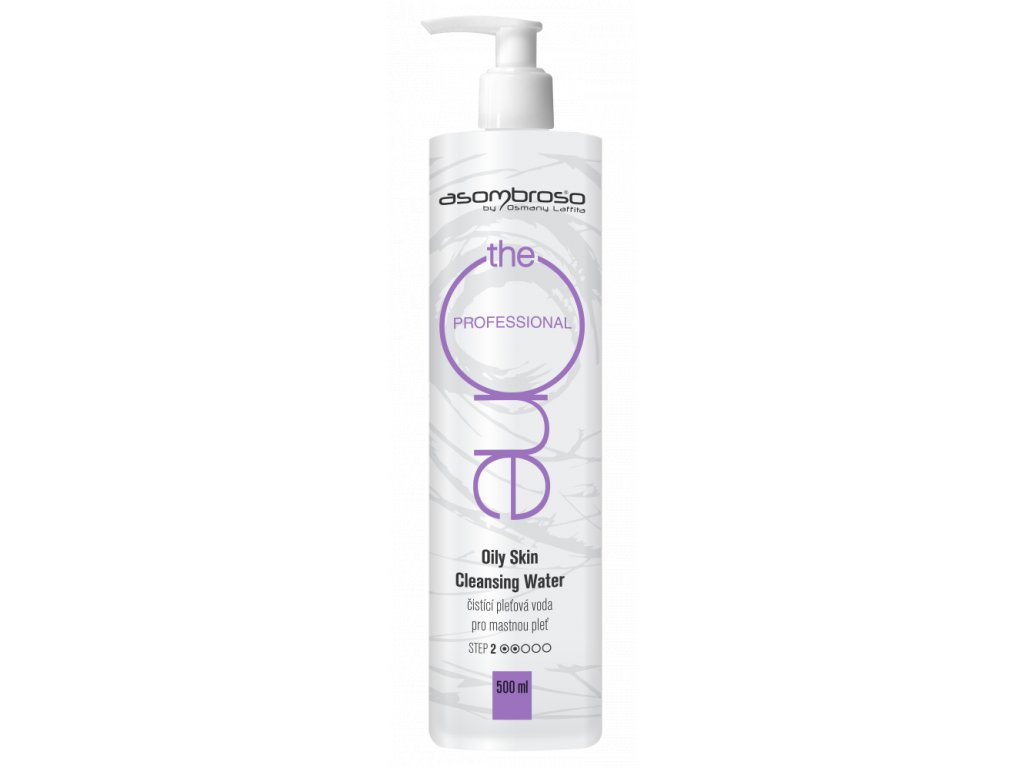 Oily Skin Cleansing Water Prof