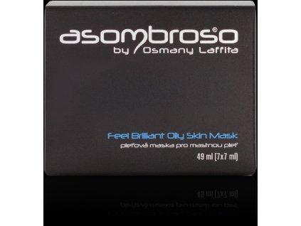 Feel Brilliant Oily Skin Mask - pleťová maska pro mastnou pleť, 49 ml