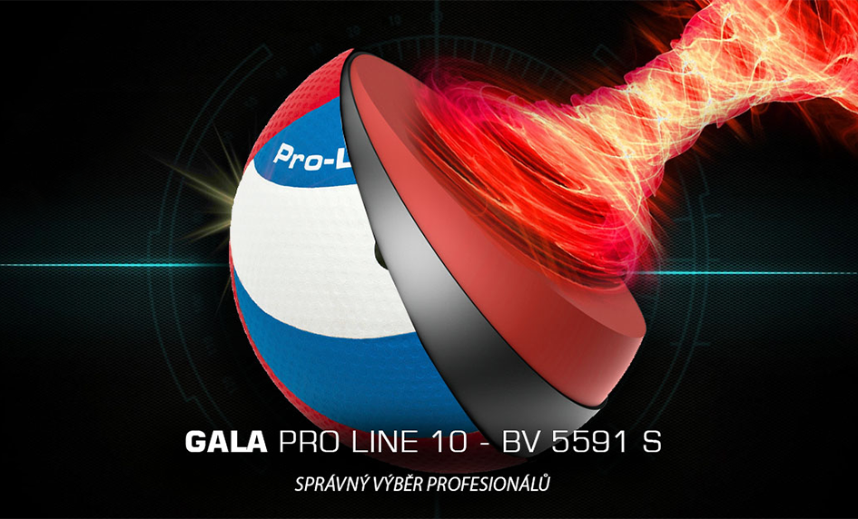 GALA Volejbalový míč - Pro line 10 - BV 5591 S