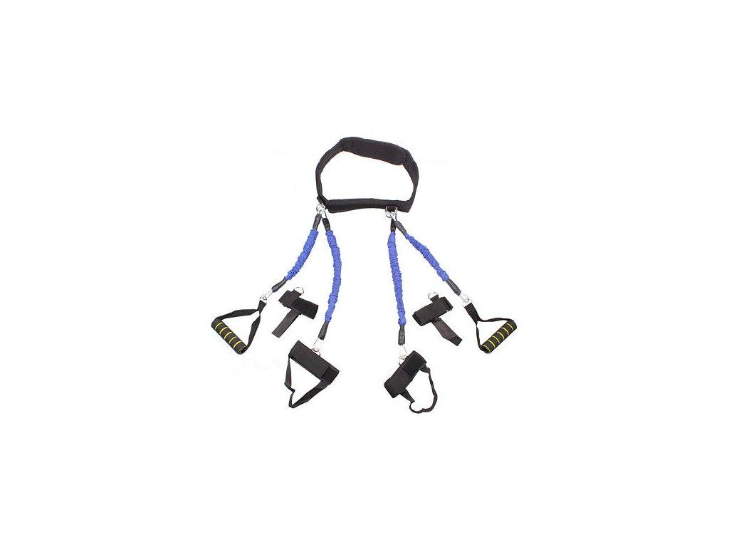 Boxing Band Set odporové gumy modrá