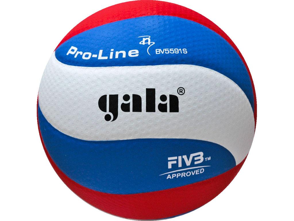 6 KUSŮ - GALA Volejbalový míč Pro Line 10 - BV 5591 S