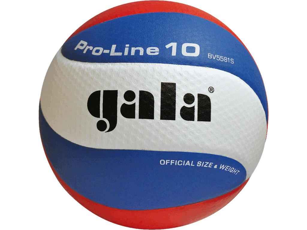 6 KUSŮ - GALA Volejbalový míč Pro Line 10 - BV 5581 S