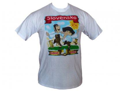 Tričko Slovak style - Maťko a Kubko