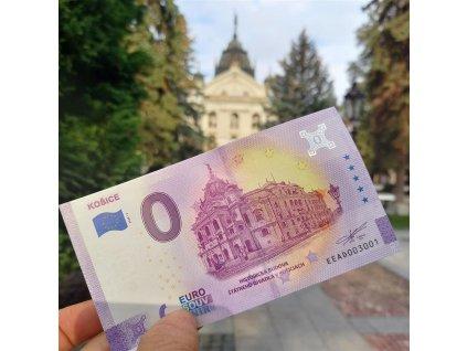 0 eurová bankovka - Štátne divadlo