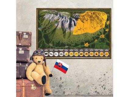 stieracia mapa vysoke tatry deluxe xl