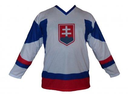 Hokejový dres Slovensko biely