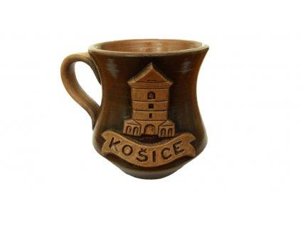 Hrnček Košice s Urbanovou vežou patina