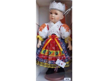 Krojovaná bábika 30 cm - Detva