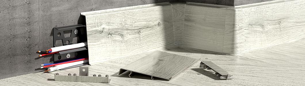 Podlahové lišty Cezar - prečo si ich vybrať?