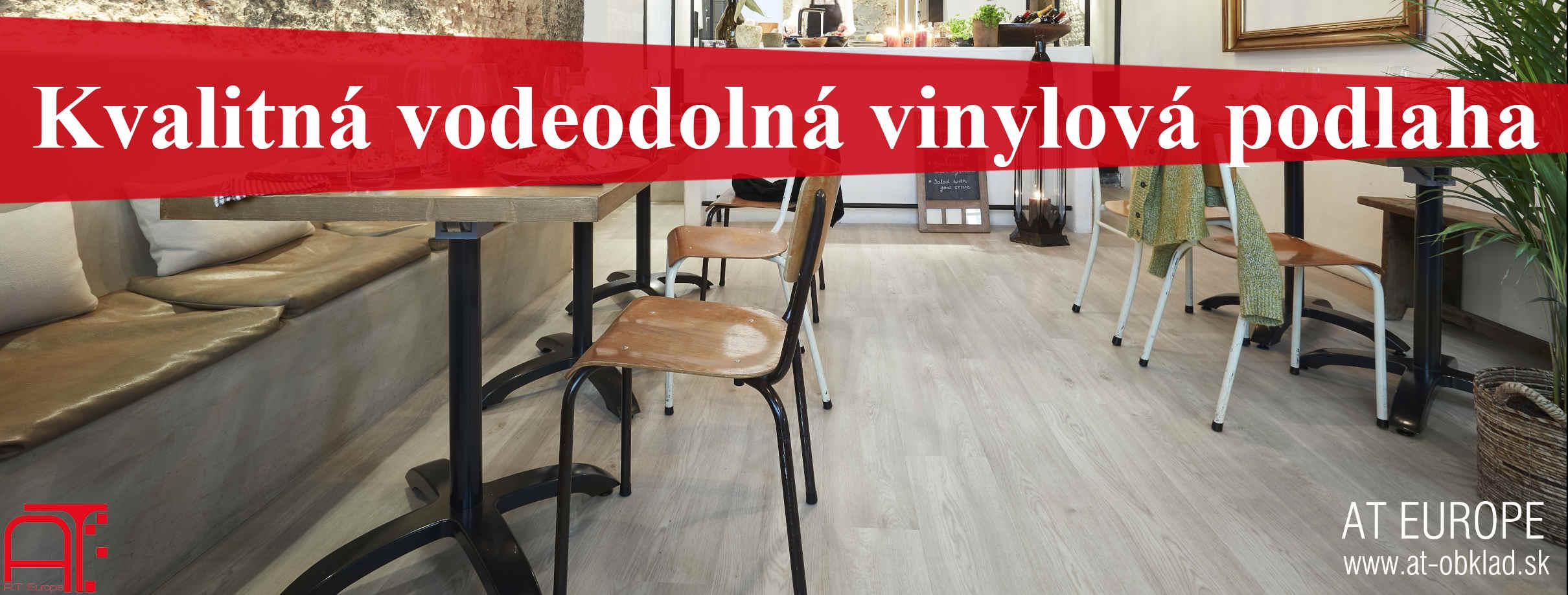 Kvalitná vodeodolná vinylová podlaha