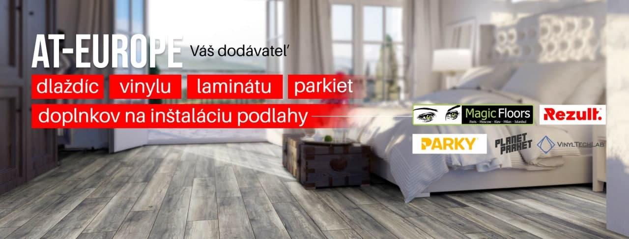 spálňa s laminátovou podlahou