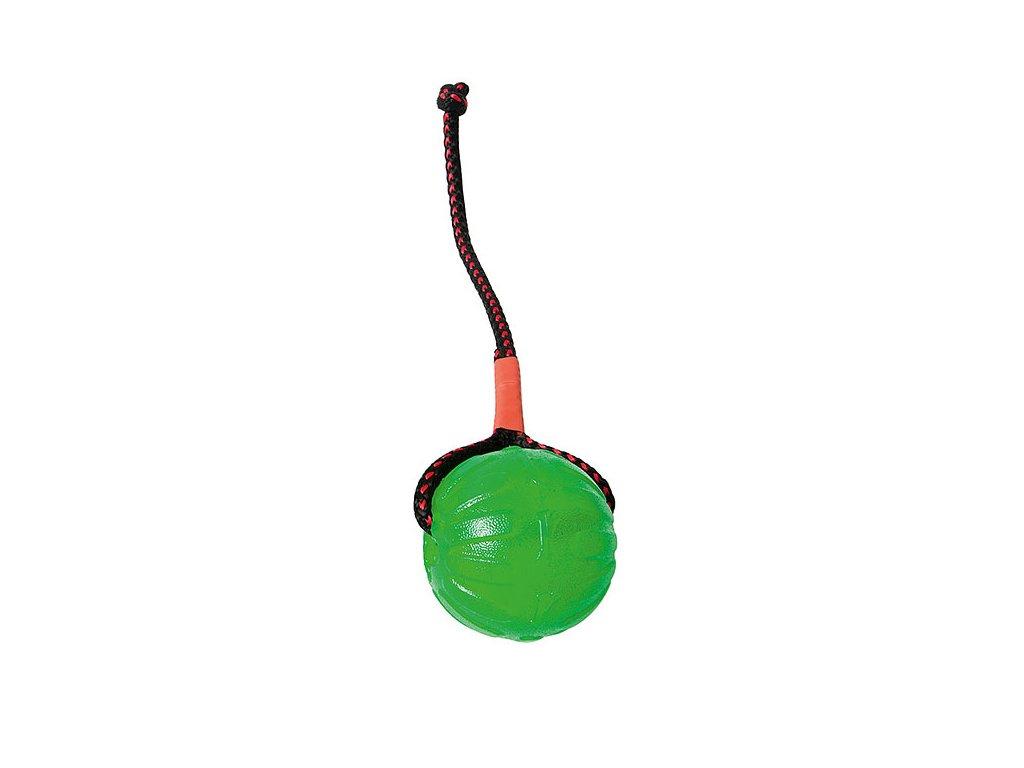 STARMARK balónek 7 cm silikonový se šňůrkou zelený
