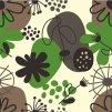 Zahrádka na béžové se zelenou