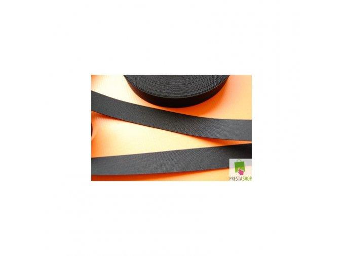 Guma - pruženka pevná 2cm černá