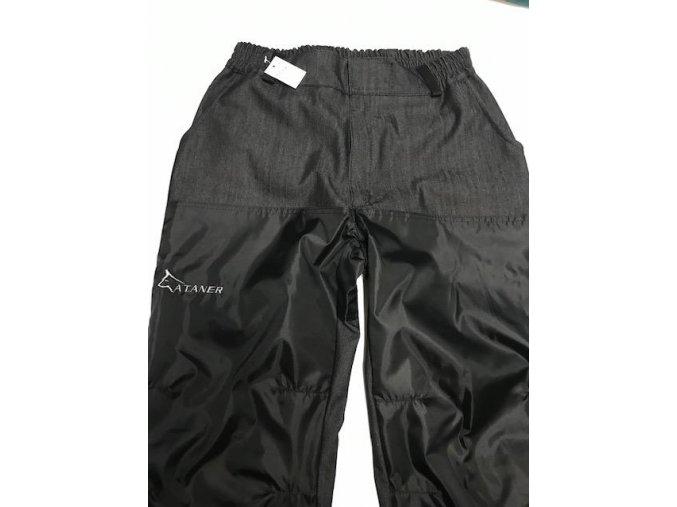 Výcvikové kalhoty  černo-modré