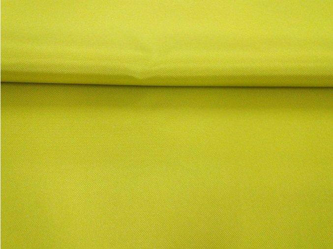 ZELENO/ŽLUTÁ-ŠUSŤÁK KOČÁRKOVÝ /kočárkovina/nepromokavý HF úprava