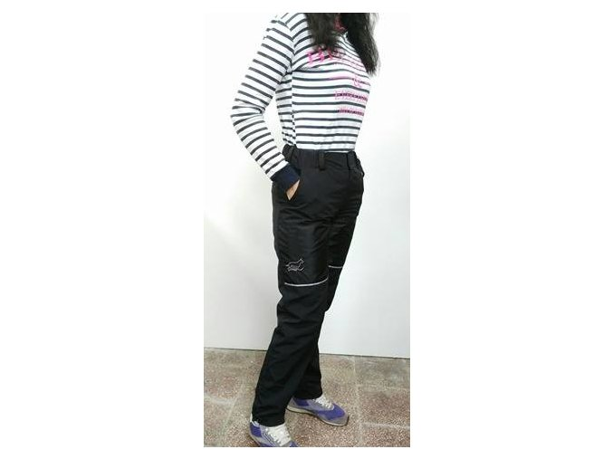 Výcvikové kalhoty letní černé