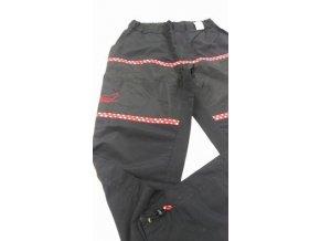 Výcvikové kalhoty letní černé  M  červené tlapky