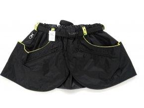 Sukně sportovní kilt - černá svítivé tlapky