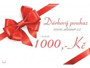Dárkový poukaz 1000,-kč