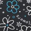 MODRÁ KYTKA NA ŠEDÉ Flowers