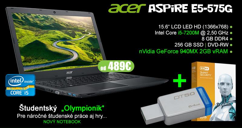 """Acer - študentský """"Olympionik"""""""