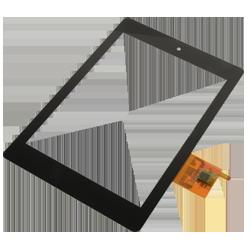 Dotykové sklá a LCD