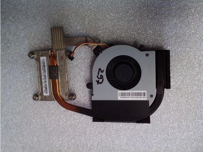 Chladič a ventilátor pre Lenovo Thinkpad Edge E530c
