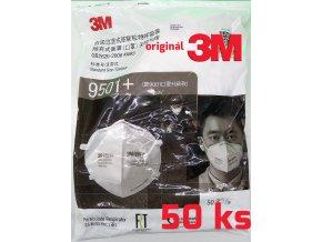 Respirátor 3M 9051+ triedy FFP2 bez ventila Komplet balenie 50ks