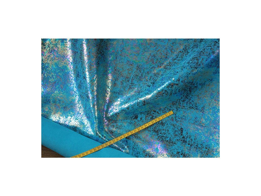 Limitka - velur - Lom modrý